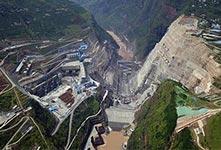 全球在建最大水电站白鹤滩