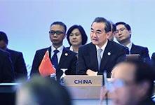 王毅:不希望域外國家指手劃腳