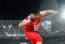 2017田径世锦赛巩立姣女子铅球夺冠