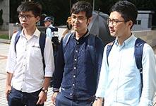 律政司提覆核判刑:黄之锋等三人应收监