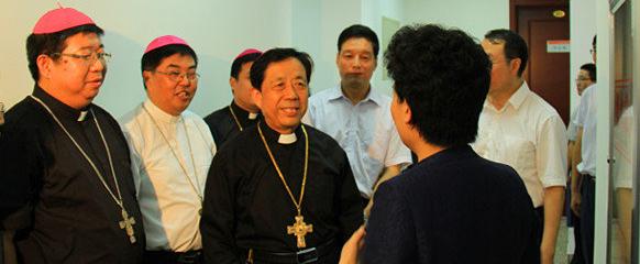 房兴耀主教参加山东省爱国宗教团体负责人学习班