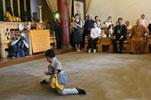 """少林""""洋弟子""""玻利维亚国外交部长瓦纳库尼故地重游"""