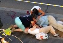 西班牙巴塞羅那恐襲造成13死80傷