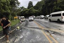 11名中国游客在泰国遇事故