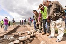 新疆現青銅時代大型聚落遺址