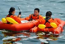 中歐航天員海上救生訓練完成