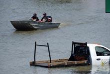 美国得克萨斯州洪水肆虐
