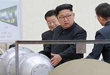 半島強震朝稱試爆氫彈彈頭