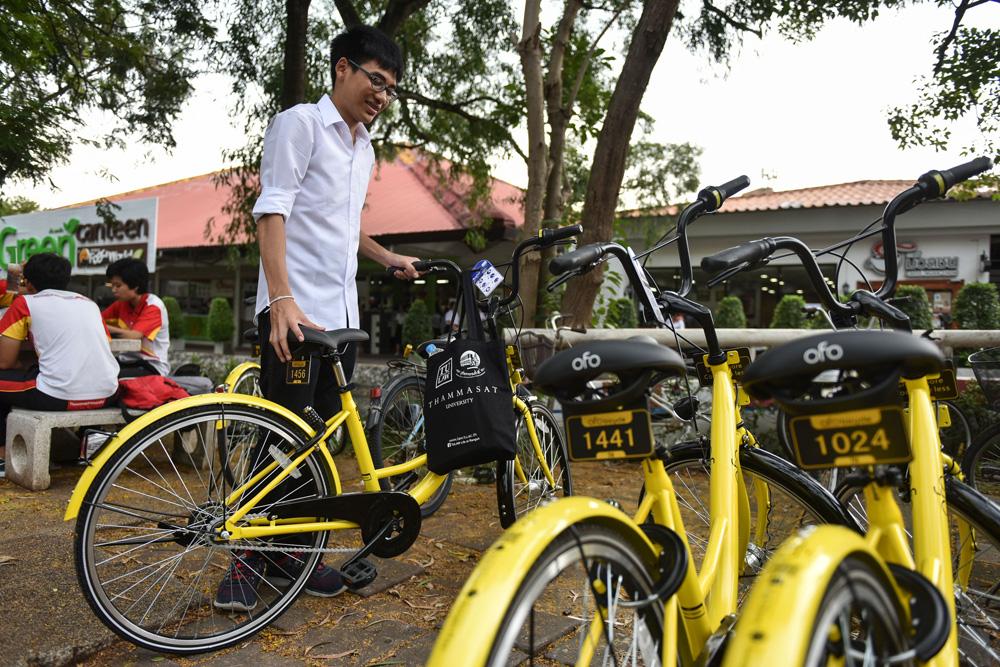 """共享单车跻身""""新四大发明"""" 为中国经济提供了新动力"""