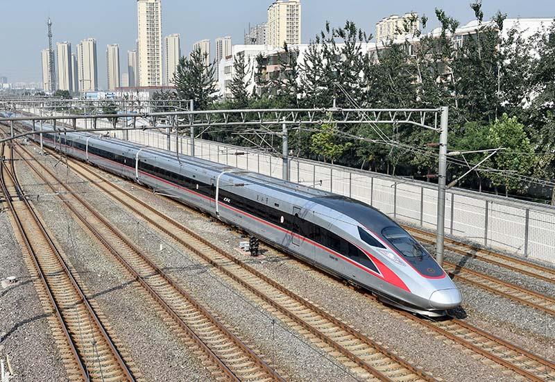 350公里 复兴号 开启中国高铁新时速