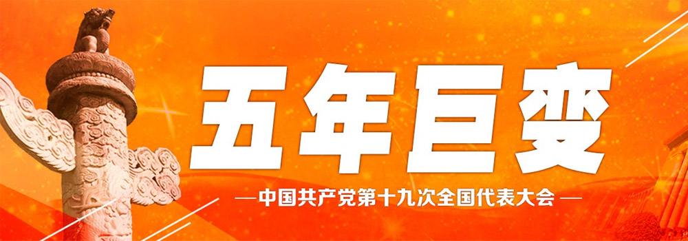 中國五年鉅變