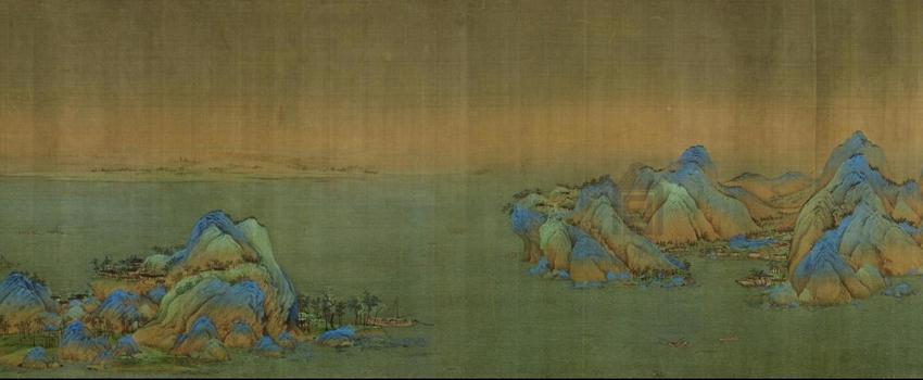 画家南游小记 | 传世名画《千里江山》全卷亮相故宫 排队赏画去...