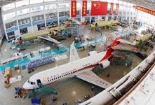 6架國產飛機在上海總裝