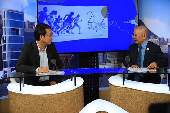朱伟明:屯门举办马拉松受欢迎 香港教育界盼参与赛事
