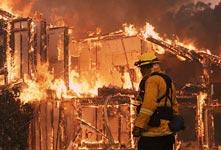 美國納帕遭遇大火