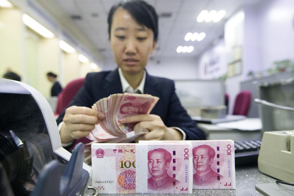 中國債務危機風險下降