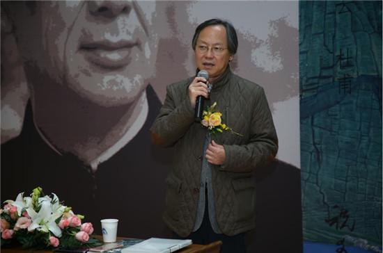 清华大学美术学院院长鲁晓波致辞