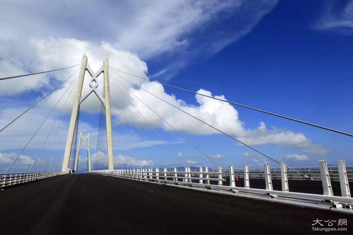 港珠澳大桥珠海口岸 曝光 推广 一站式 通关
