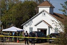 美国得州教堂枪击事件致27人亡