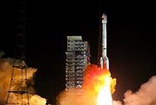 """中国""""一箭双星""""成功发射"""