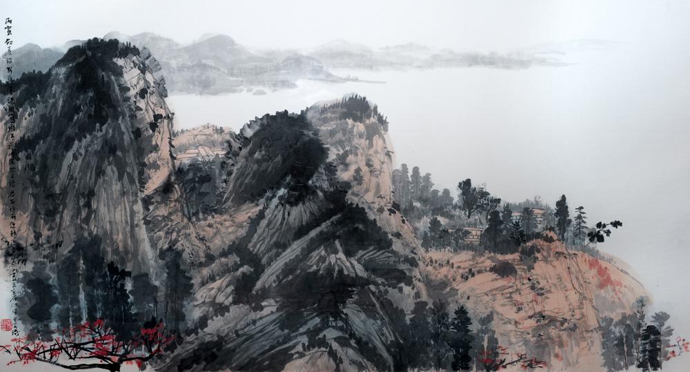 向前輩致敬──小園花放──香港中文大學藝術系六十周年書畫藏品展\鄧海超