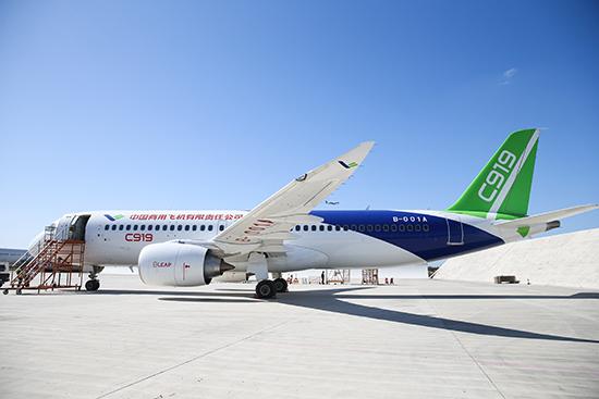 对于中国的国产大飞机c919而言,要想进军国际市场,就必须获得国外