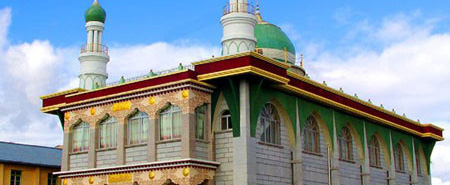 【西藏】拉萨市河坝林清真寺