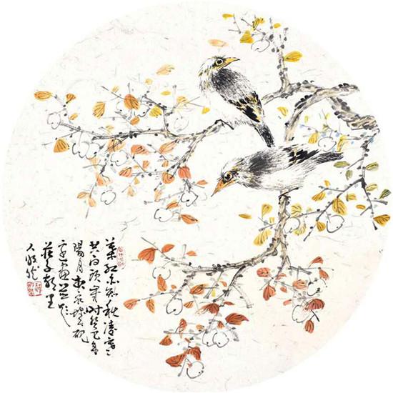 出水芙蓉别样雅:郝明然的中国画