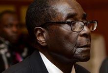穆加贝辞去总统职务