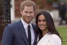 英國哈里王子宣布訂婚