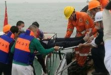 珠江口貨船碰撞事故已有7人獲救