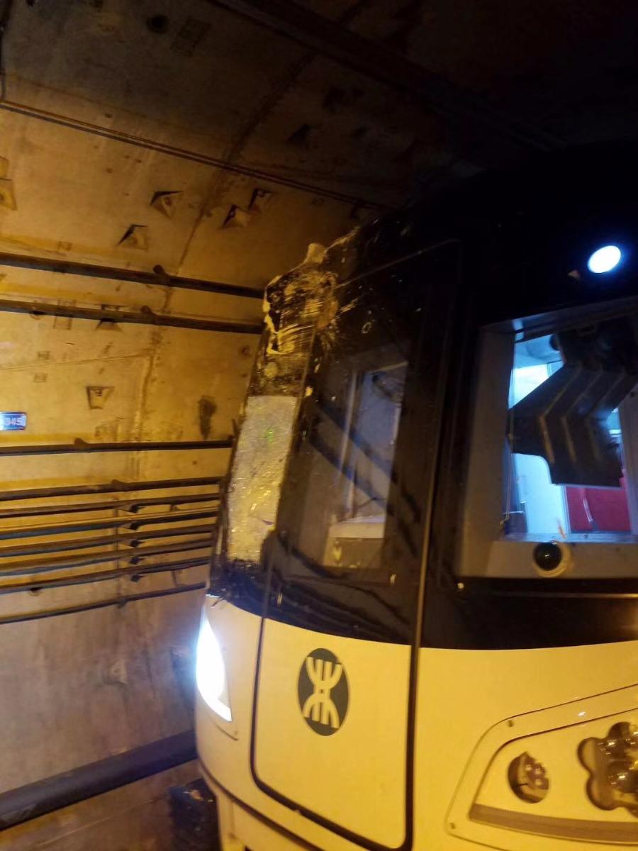 深圳地铁隧道遭打桩机打穿 11号线机场线停运近13个小时