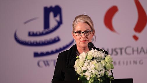 澳大利亚驻华大使安斯捷致辞