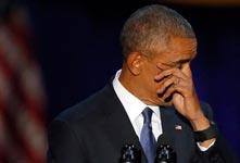 国外政要因什么而哭泣