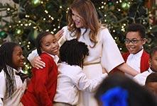 晒晒2017年政要王室如何过圣诞