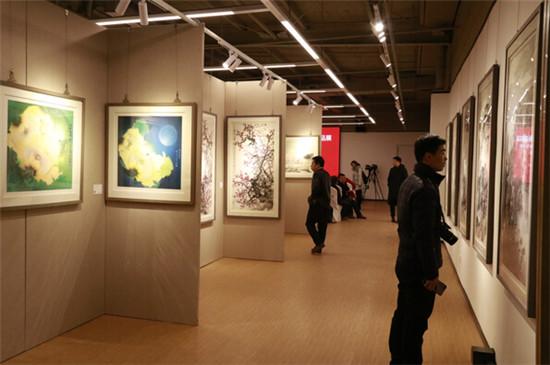 艺象中国 当代书画名家精品展在收藏天下艺术馆开幕