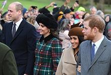英国:准王妃梅根与凯特首次同框