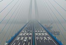 武汉沌口大桥建成通车