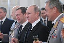俄为在叙参战军人举行授勋仪式
