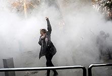 伊朗反政府示威愈演愈烈