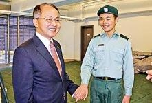 香港青少年军总会三周年庆