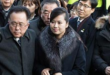 朝鮮藝術演出考察團抵韓進行踩點