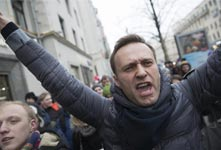 俄爆發反普京示威