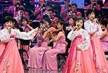 朝鲜艺术团在韩国首场演出
