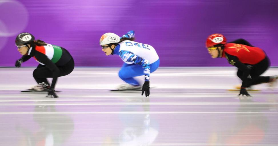 小将李靳宇1500米摘银 中国短道速滑首枚奖牌