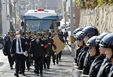 """日本對黑幫""""山口組""""進行搜查"""