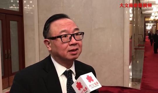 廖長江:香港一定要把握機會融入國家發展