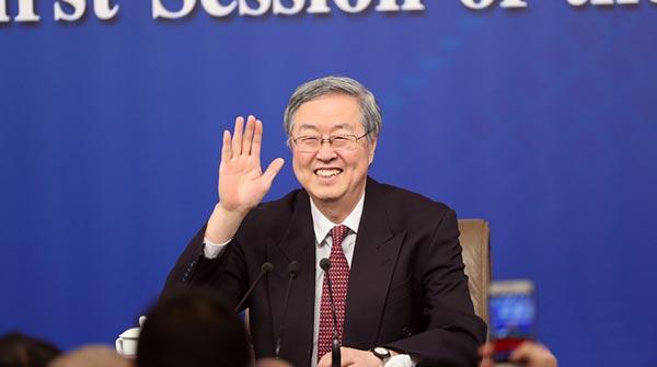 央行行長周小川等談金融改革與發展