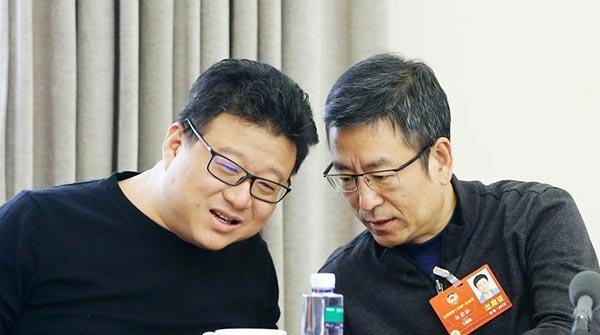全國政協十三屆一次會議新聞出版界小組會議舉行
