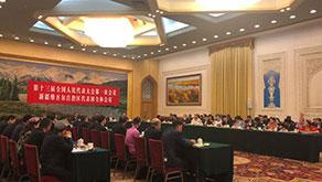 新疆代表朱海侖:要打贏一場邊境管控的人民戰爭